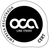 Logo de empresa registrada de la clínica dental Oris